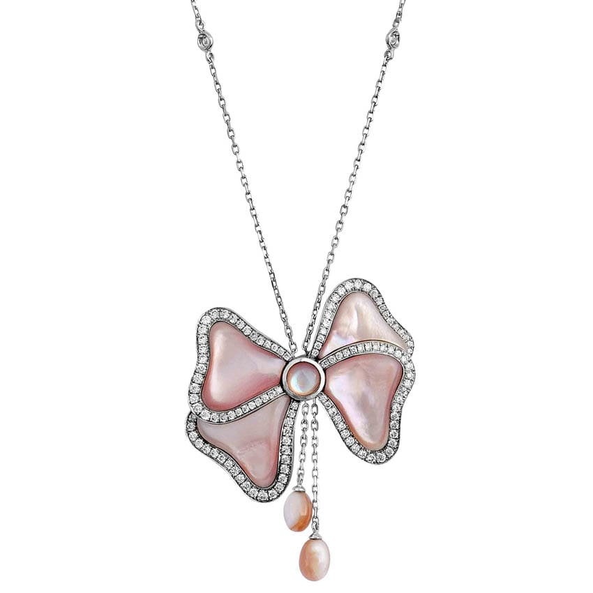 Pink Mother of Pearls Pendant