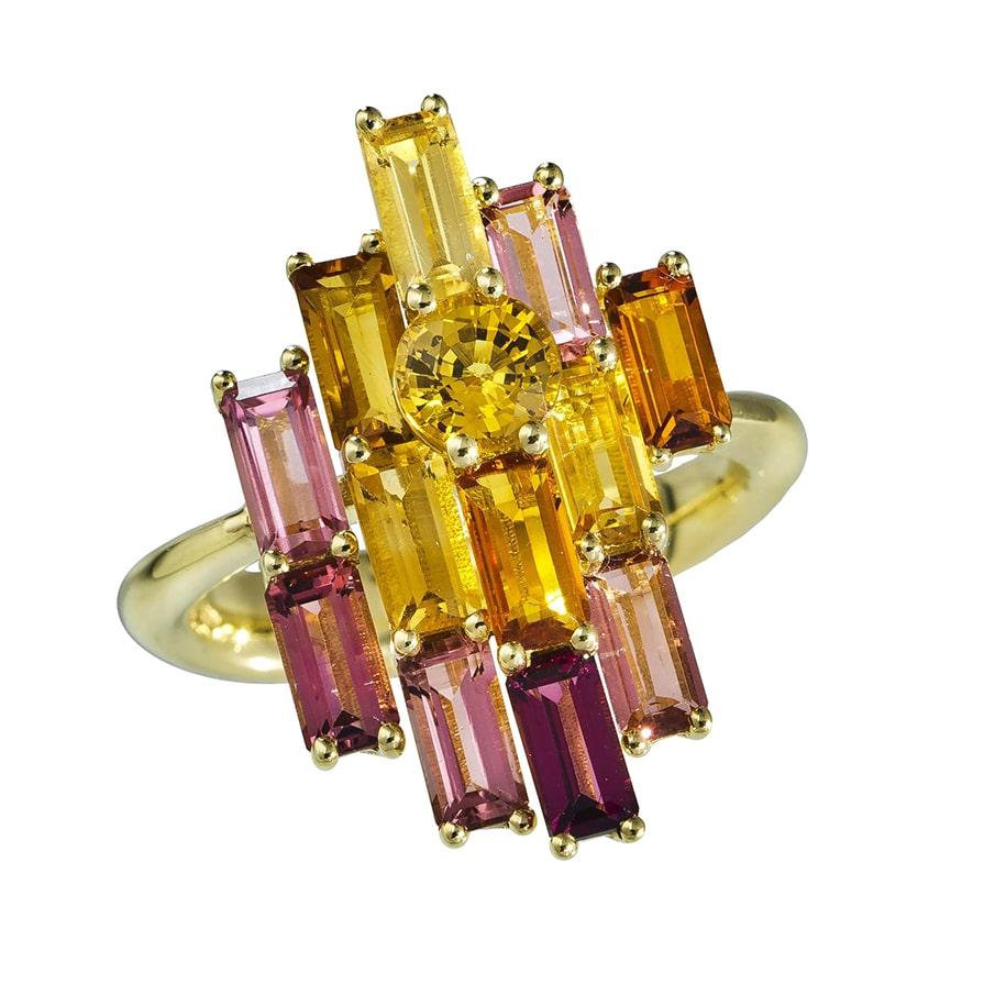 Golden Bright Ring