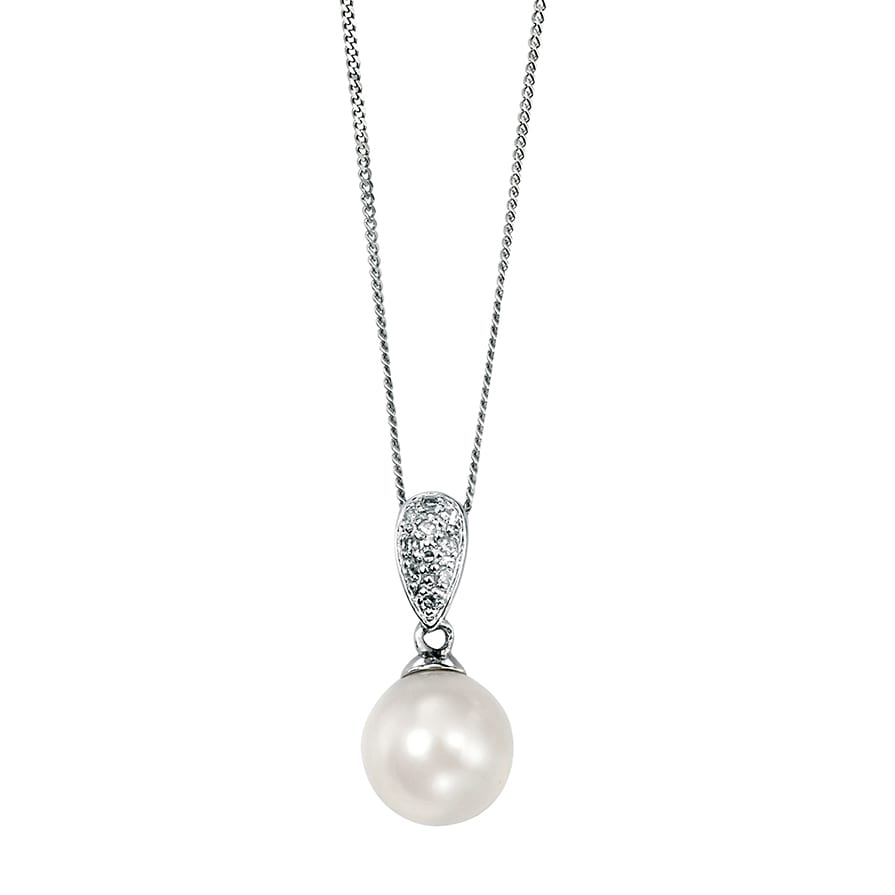 Daimond and Pearl Necklace