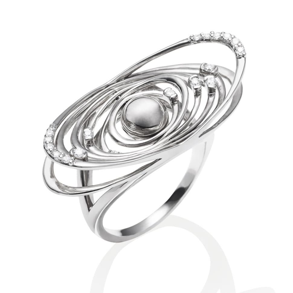 DEVOTED White Gold Ring