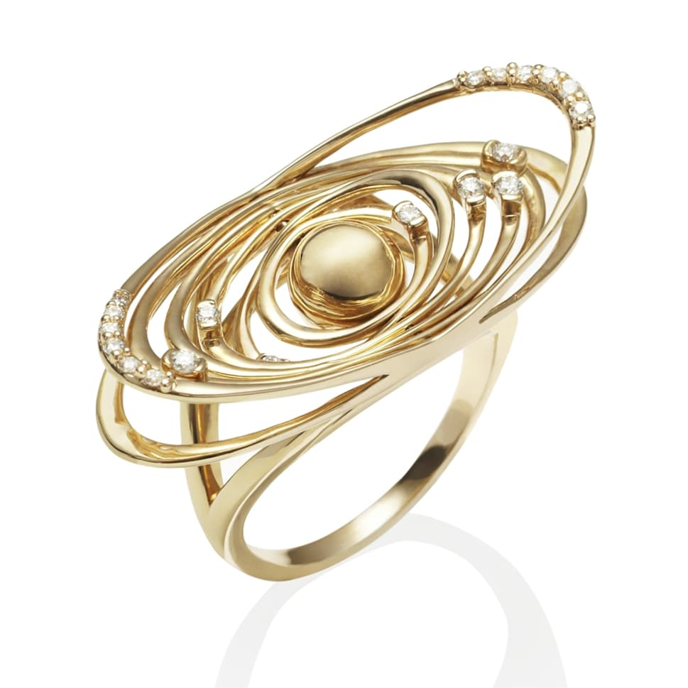 DEVOTED Yellow Gold Ring