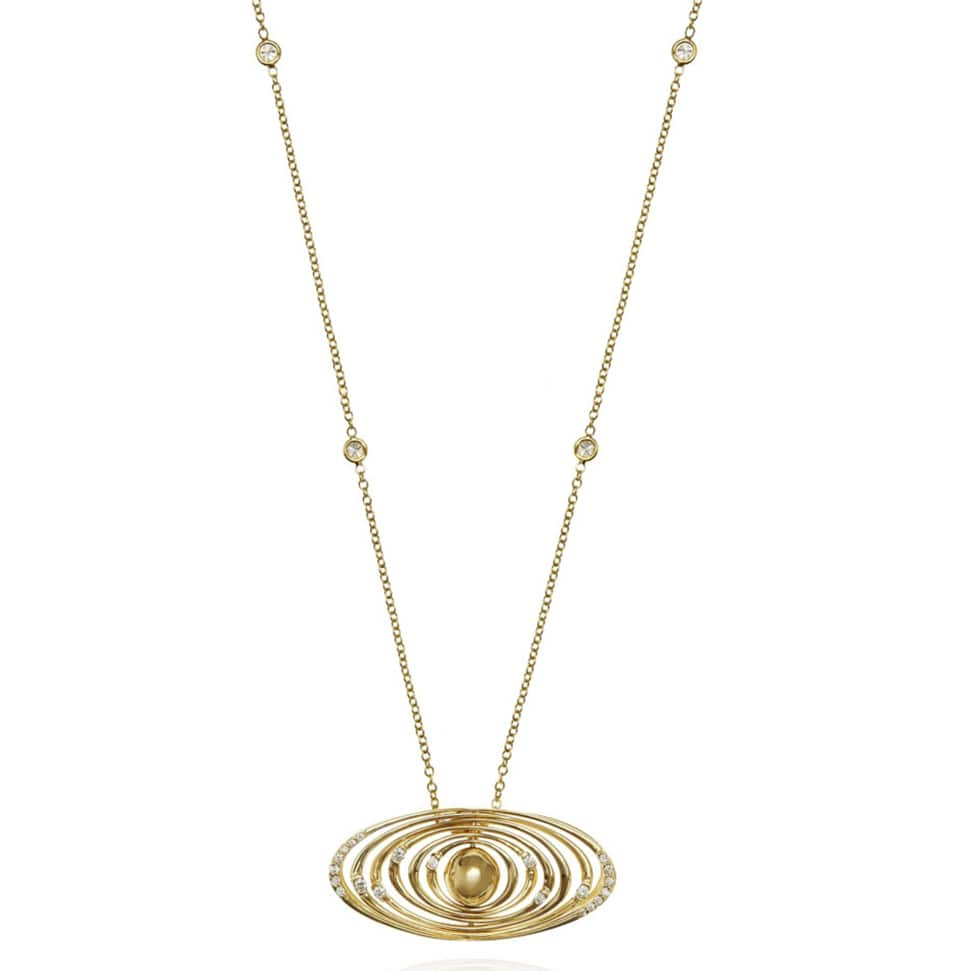 DEVOTED Yellow Gold Necklace