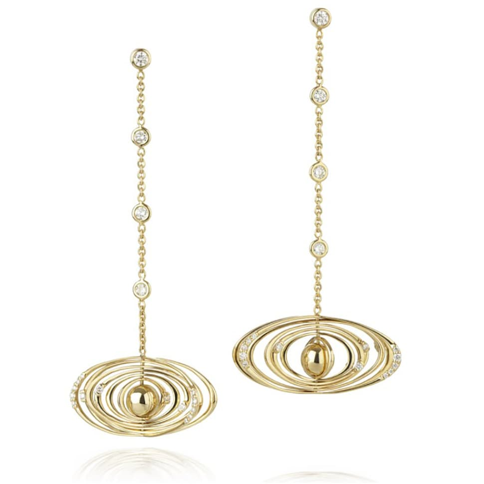 DEVOTED Yellow Gold Earrings