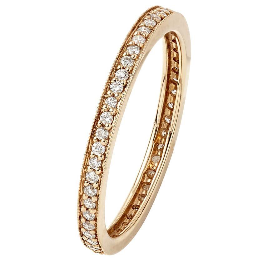 Pink Gold Ring V