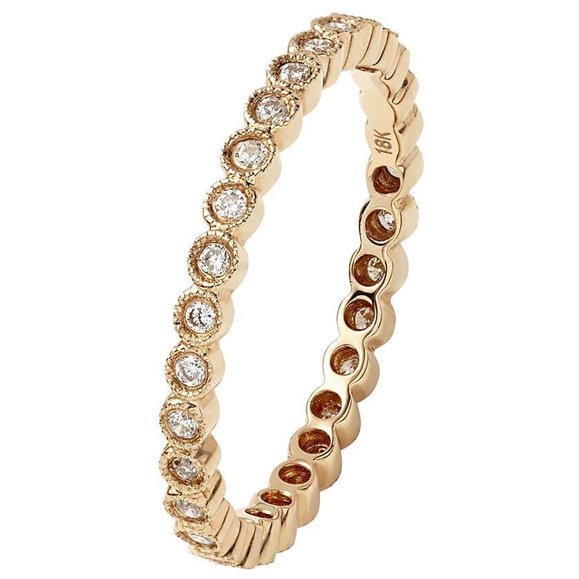 Pink Gold Ring VI